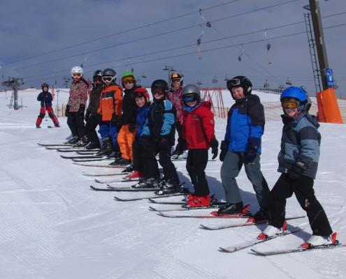Auf die Plätze, fertig... Ski!