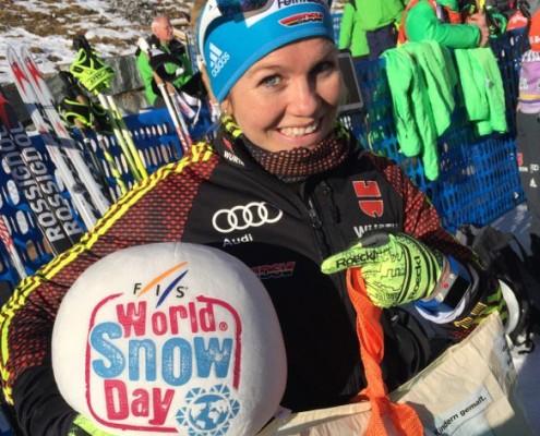 Sandra Ringwald bei der Tour de Ski 2016