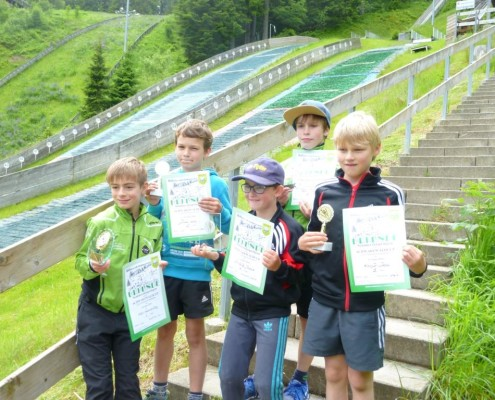 2.Platz Skiteam